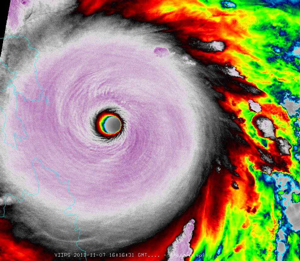 typhoon haiyan image