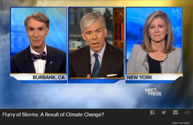 meet the press climate change debate