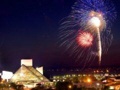 fireworks rock hall