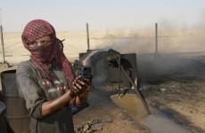 syrian oil field worker