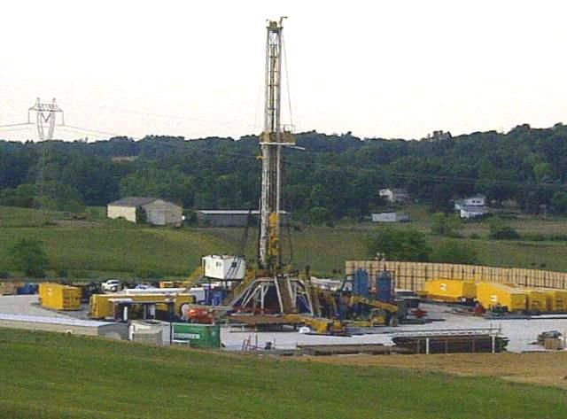 fracking well ohio