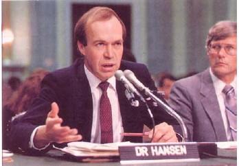 James Hansen 1988 testimony