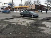 cleveland potholes