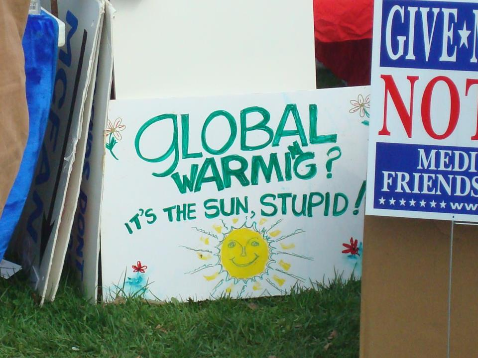 tea party global warming sign
