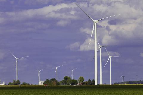 blue creek wind farm