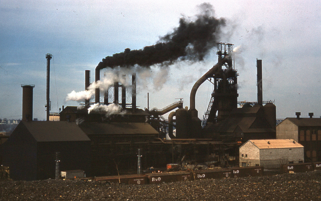 ltv steel plant pollution 1961