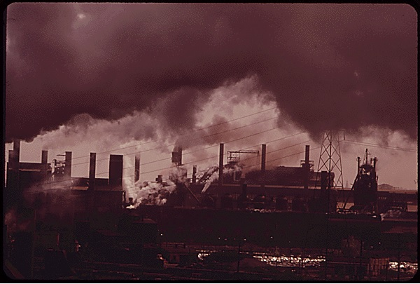 republic steel mill 1973