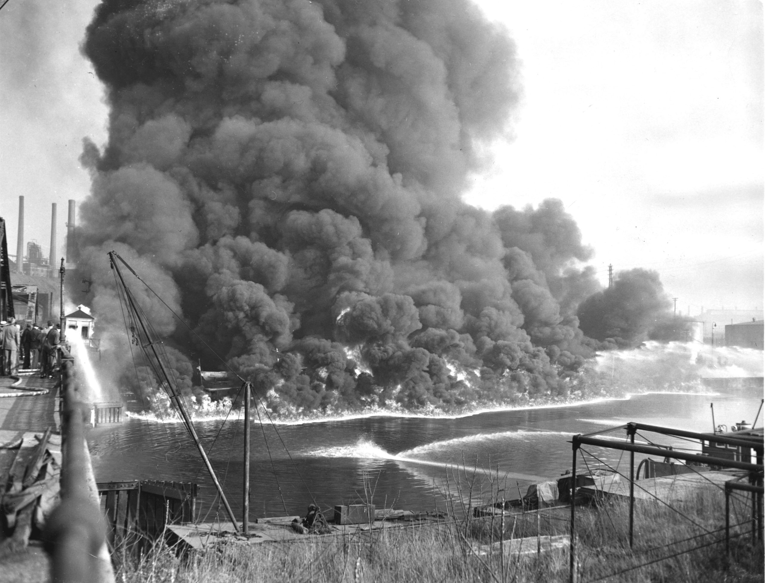 1952 Cuyahoga River fire