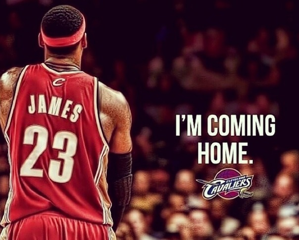 Courtesy of LeBron's Instagram account.