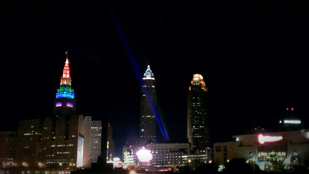 cleveland gay games skyline