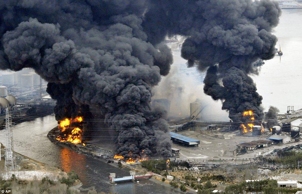 sendai earthquake tsunami damage
