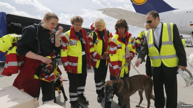 germany search & rescue nepal