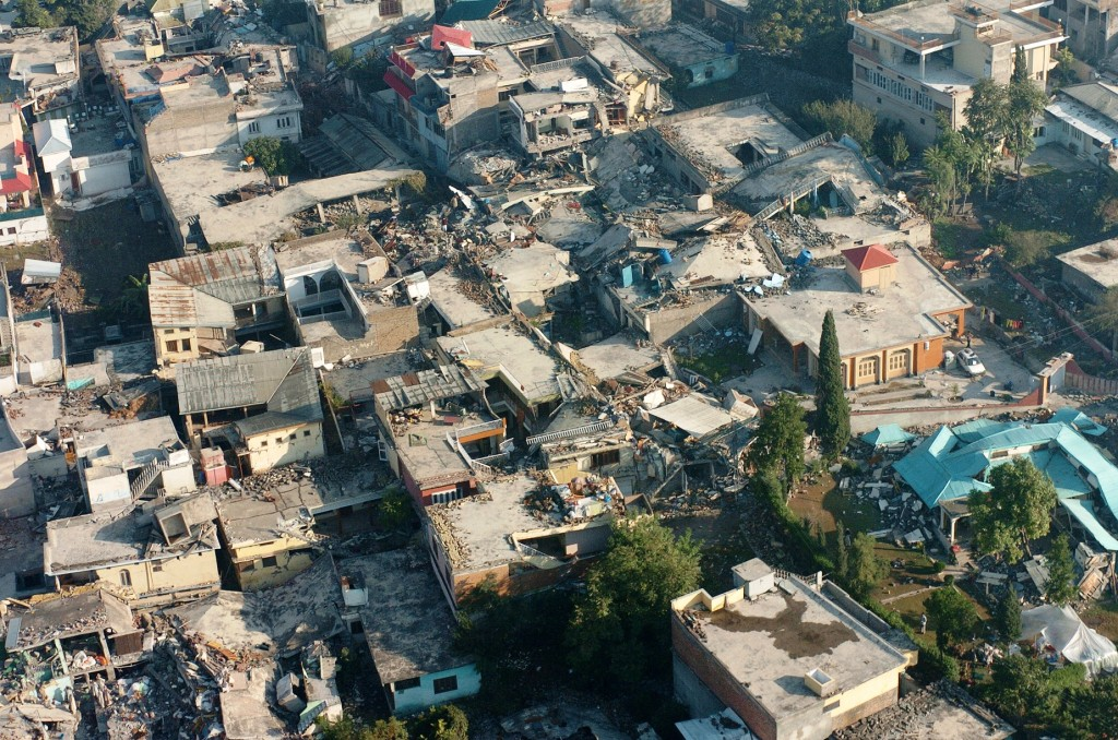 muzaffarabad earthquake damage 2005