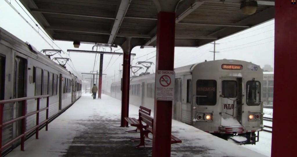 red line winter