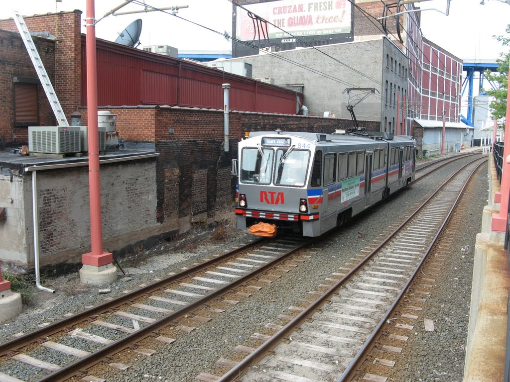 GCRTA's Waterfront line (courtesy of htabor).