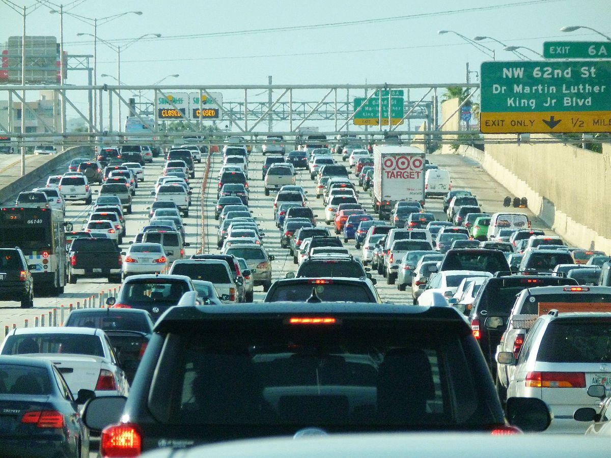 miami rush hour traffic