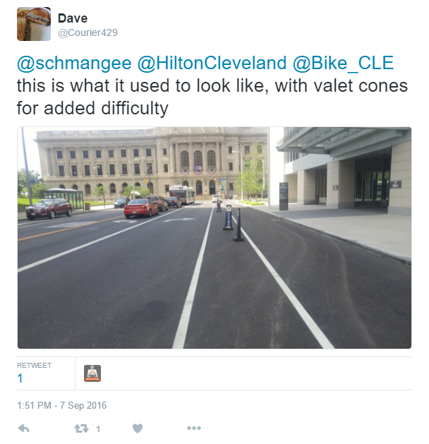 ontario bike lane before
