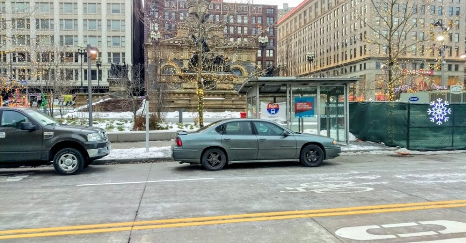 public square bus shelter