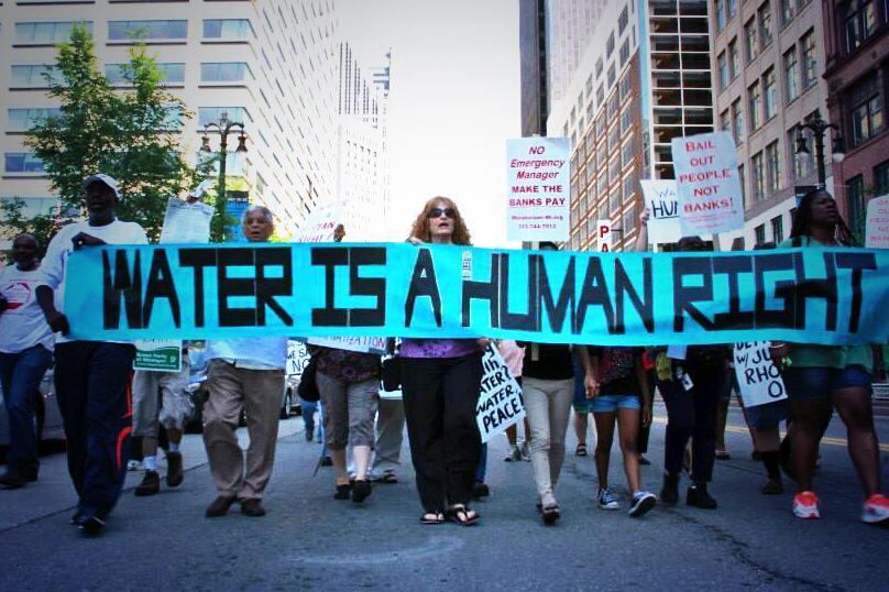 detroit water brigade