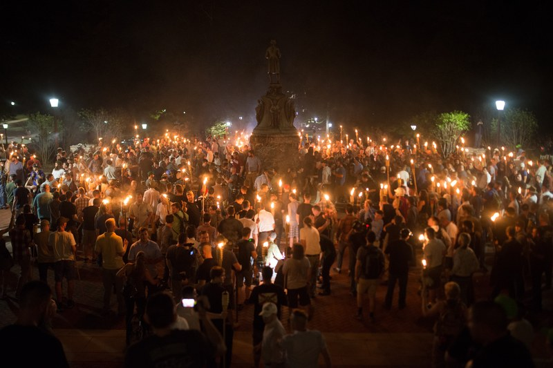 white nationalists charlottesville